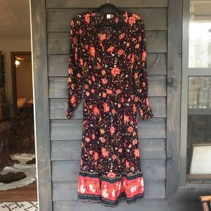 Old Navy • floral midi dress